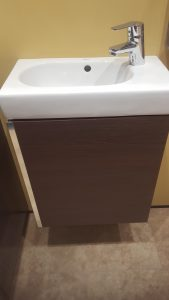 Floating Wash Hand Basin and Vanity unit Bromley